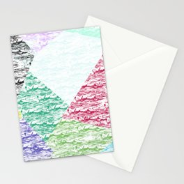 Abstract 507 Stationery Cards