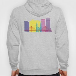Omaha V2 skyline pop Hoody