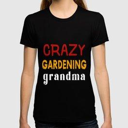 Crazy Gardening Grandma T-shirt