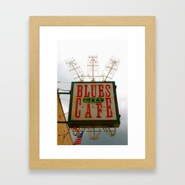 Blues City Cafe, Beale Street, Memphis Framed Art Print