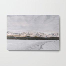 Frozen Lake Views - Landscape Photography Metal Print