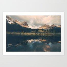 Mystic Mountain - Banff Nature, Landscape Photography Art Print