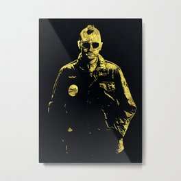 Taxi Driver - The Legend Metal Print