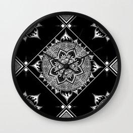 Mandala Rossignol Wall Clock
