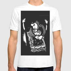 Che White MEDIUM Mens Fitted Tee