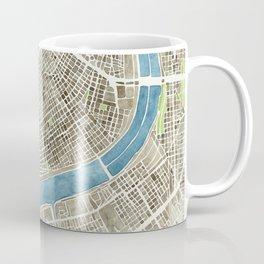 New Orleans City Map Coffee Mug