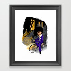 The Purple Kid Framed Art Print