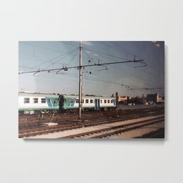 Padova Train Ride Metal Print