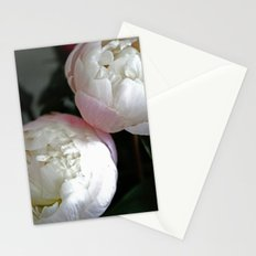 Peony in darkness Stationery Cards