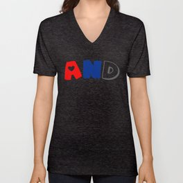 And (Polyamory) Unisex V-Neck