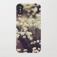 Baby's Breath 2 Slim Case iPhone X