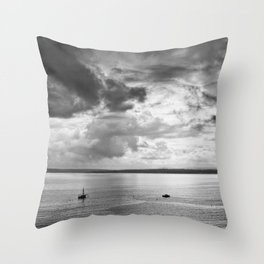 St. Ives bay Throw Pillow