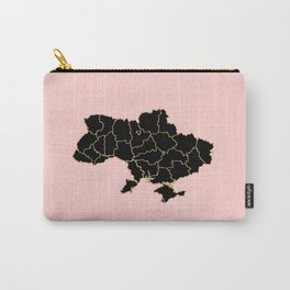 Ukraine map Carry-All Pouch