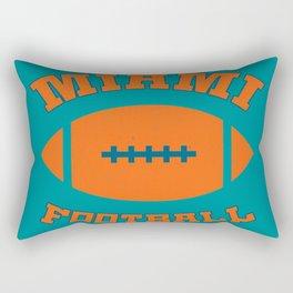 Miami Football Rectangular Pillow