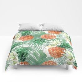 Pineapples. Comforters