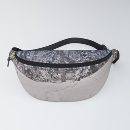 Vermont Winter Woodland Fanny Pack