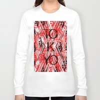 camo Long Sleeve T-shirts featuring CAMO TOKYO by Chrisb Marquez