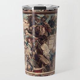Triumph of Constantine over Maxentius at the Battle of the Milvian Bridge Travel Mug