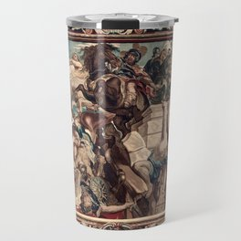 Triumph of Constantine over Maxentius at the Battle of the Milvian Bridge Travel Mug