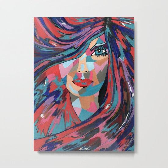 Psychedelic Jane Metal Print