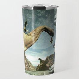 Dinosaur Road Trip Travel Mug