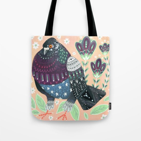 City Pigeon II Tote Bag