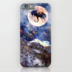 The Lonely Mountain (Titled Art Print) iPhone 6s Slim Case