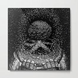 Bent Synapse Metal Print