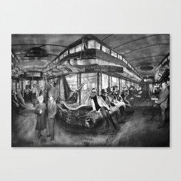 The Hopper: Interior Canvas Print