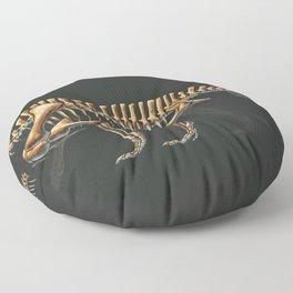 Shringasaurus Indicus Skeleton Study (No Labels) Floor Pillow