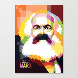 Karl Marx Canvas Print