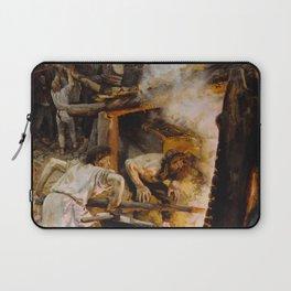 Akseli Gallen-Kallela - The Forging of the Sampo - Finnish Fine Art Laptop Sleeve