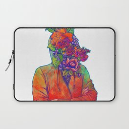 FLOWERS HEAD Laptop Sleeve