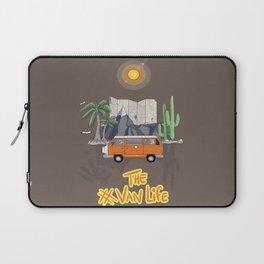 The Van Life (Around the World Vers.) Laptop Sleeve
