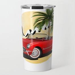 Vintage,retro  car,cabriolet Travel Mug