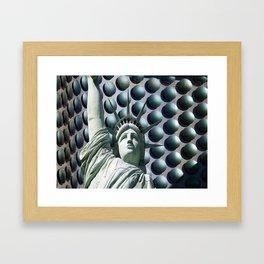 Visit Vegas Framed Art Print