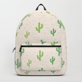 Mexico style cactus pattern Backpack