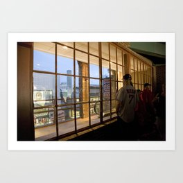 Window- Fenway Art Print