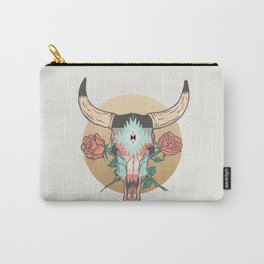 cráneo de vaca Carry-All Pouch