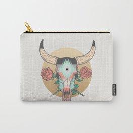 cráneo de vaca Carry-All Pouch