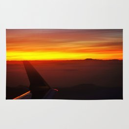 Sunset at 30,000 Feet Rug