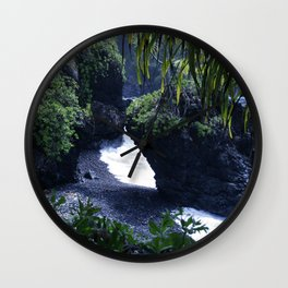 Honomaele Hana Maui Hawaii Wall Clock