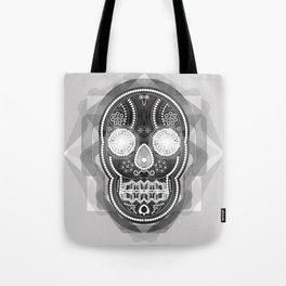 Black skull Tote Bag