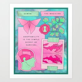 Gemini II Art Print