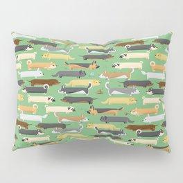 Dogalogs (grass version) Pillow Sham