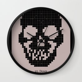 25. Down Wall Clock