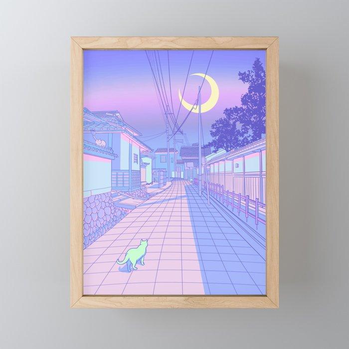 Kyoto Nights Framed Mini Art Print