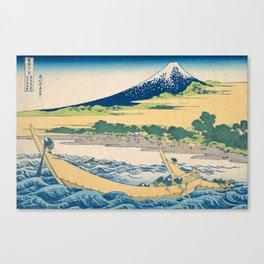 Katsushika Hokusai - Tago Bay Blockprint Canvas Print