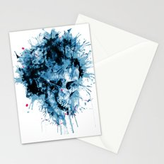 Skull Splash Stationery Cards