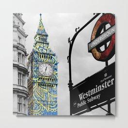 Funky Landmark - London Metal Print